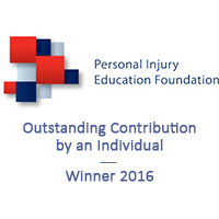 PIEF Outstanding Contribution by an Individual Award Winner 2016